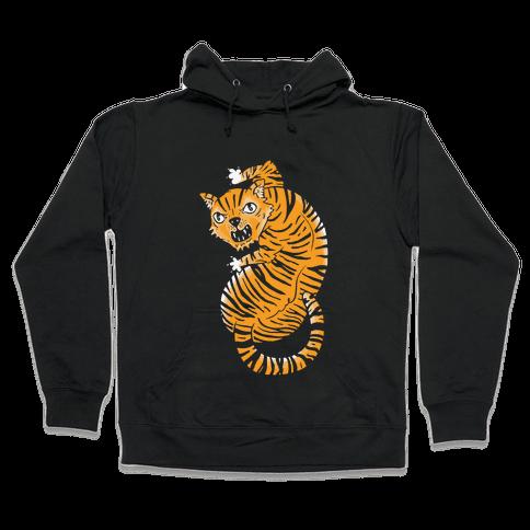 The Ferocious Tiger Hooded Sweatshirt