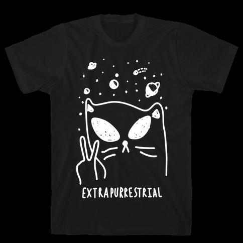 Extrapurrestrial Mens T-Shirt