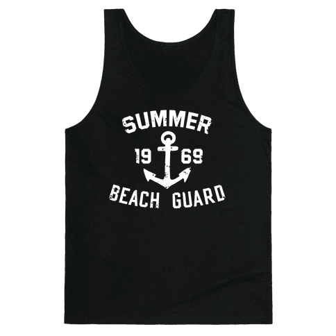 Summer Beach Guard Tank Top