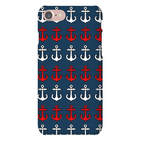 Anchor Pattern Phone Case
