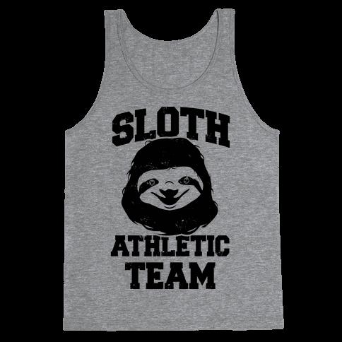 Sloth Athletic Team Tank Top