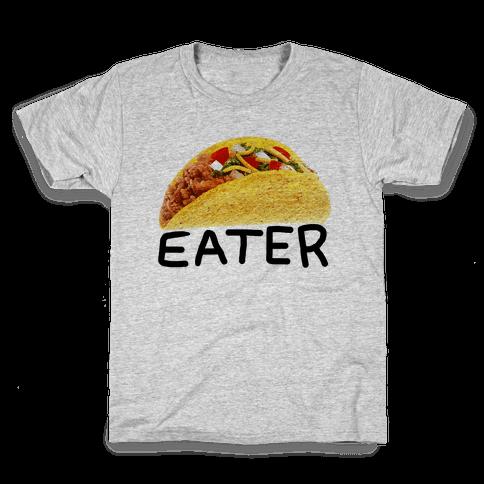 TACO EATER Kids T-Shirt