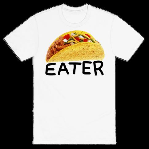 TACO EATER Mens T-Shirt