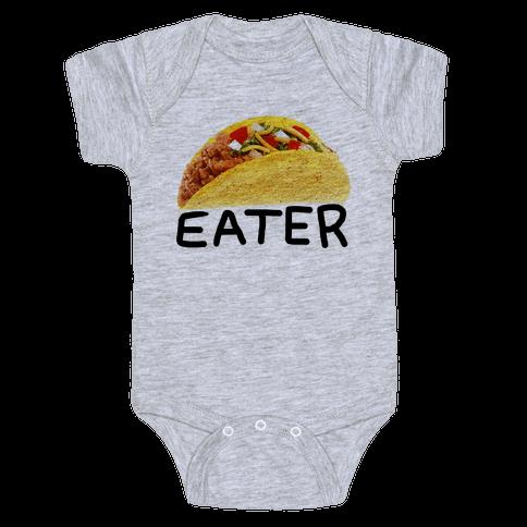 TACO EATER Baby Onesy