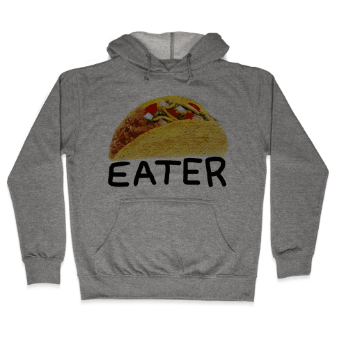 TACO EATER Hooded Sweatshirt