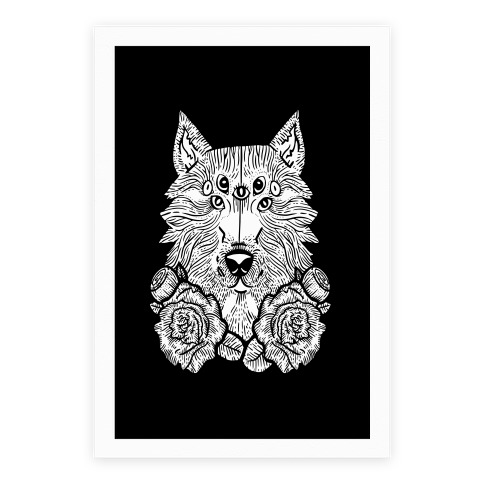 Seven Eyed Wolf Poster