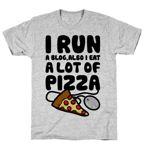 I Run A Blog Mens T-Shirt