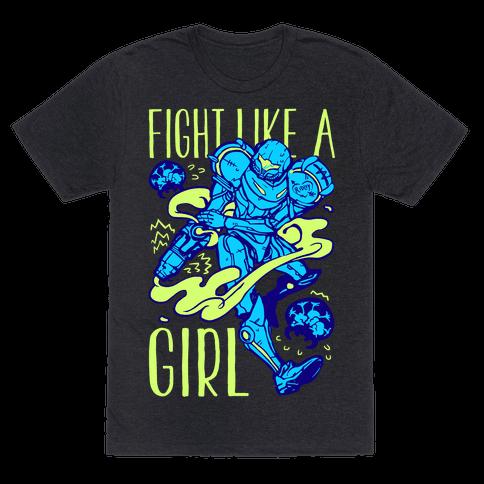 Fight Like A Girl Samus Parody