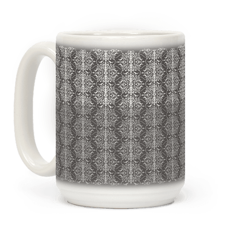 Gray and White Medieval Ombre Pattern