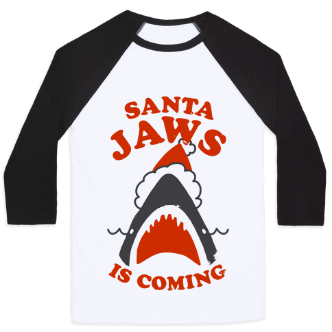 Santa Jaws Is Coming
