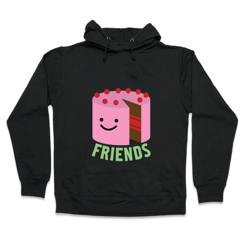 Ice Cream and Cake (Cake) Hooded Sweatshirt
