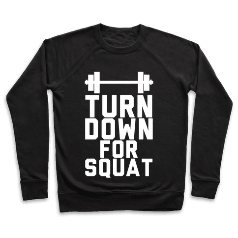 Turn Down For Squat Pullover