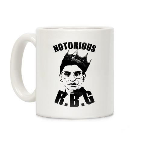 Notorious R.B.G. Coffee Mug