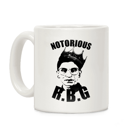 Notorious R.B.G. Coffee Mug