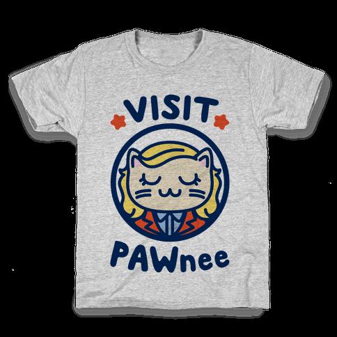 Visit Pawnee Kids T-Shirt