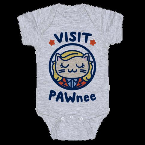 Visit Pawnee Baby Onesy
