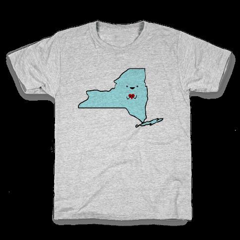 Cutie New York (tank) Kids T-Shirt