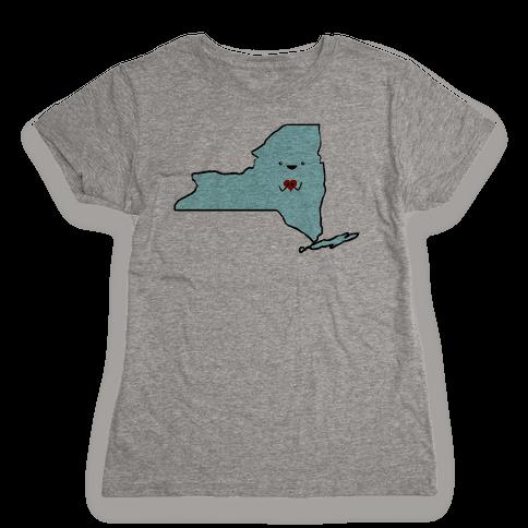 Cutie New York (tank) Womens T-Shirt