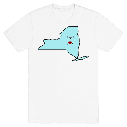 Cutie New York (tank) Mens T-Shirt