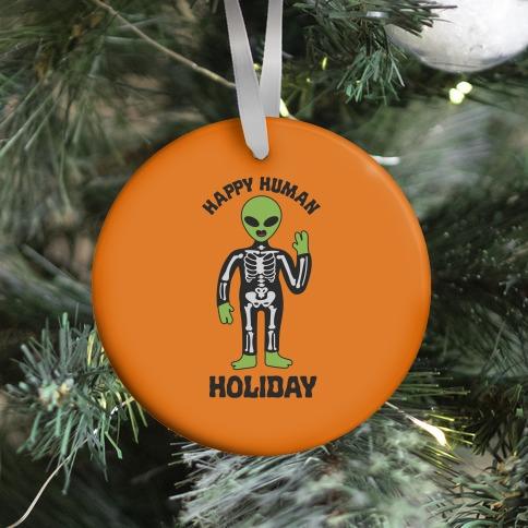 Happy Human Holiday Ornament