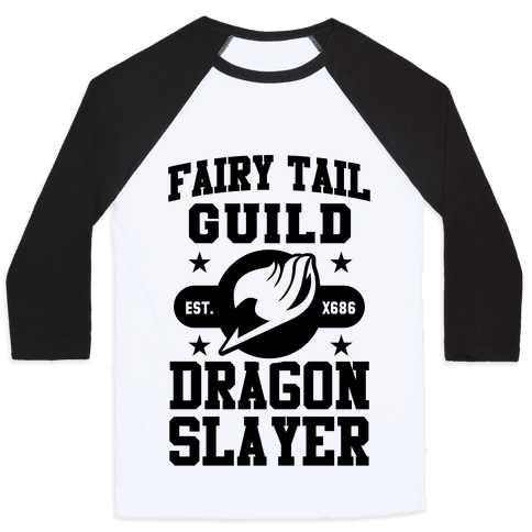 Fairy Tail Guild Dragon Slayer Baseball Tee
