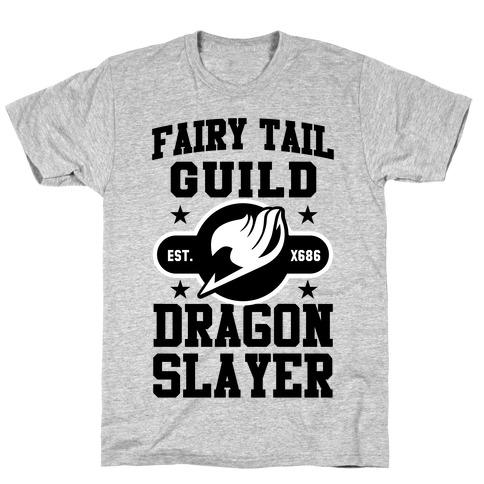 Fairy Tail Guild Dragon Slayer Mens/Unisex T-Shirt
