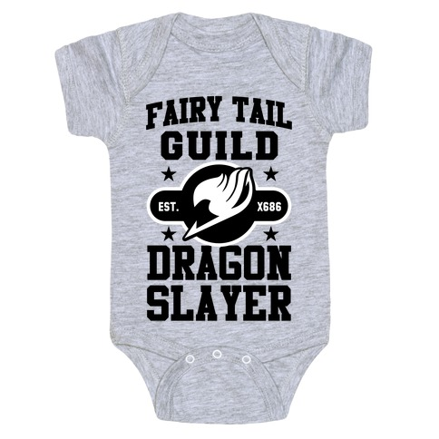 c9866785 Fairy Tail Guild Dragon Slayer Baby One-Piece | LookHUMAN