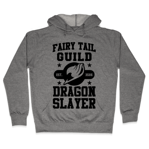Fairy Tail Guild Dragon Slayer Hooded Sweatshirt