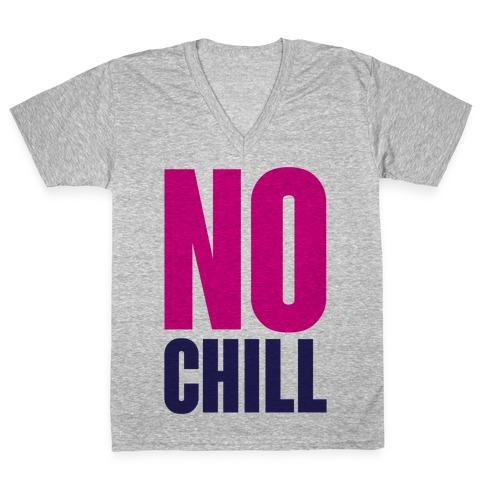 No Chill V-Neck Tee Shirt