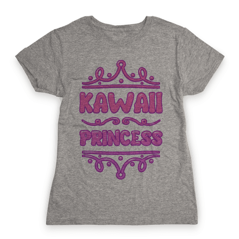 Kawaii Princess Womens T-Shirt