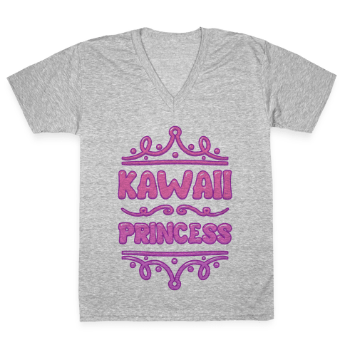 Kawaii Princess V-Neck Tee Shirt