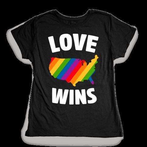Love Wins Womens T-Shirt