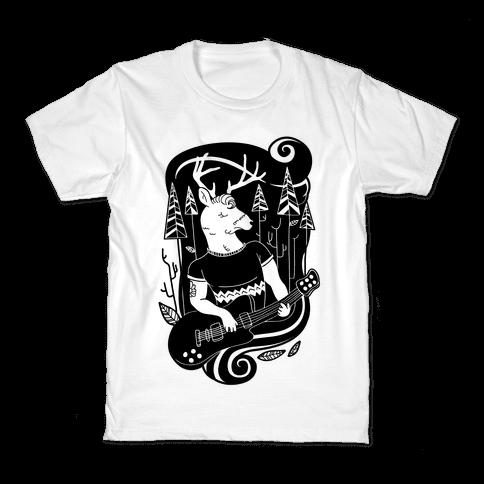 Rock and Roll Buck Kids T-Shirt