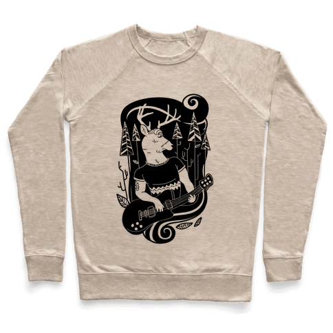 Rock and Roll Buck Pullover