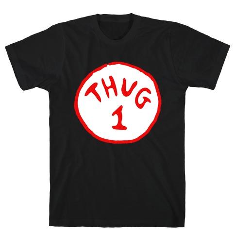 Thug 1 (black) Mens T-Shirt