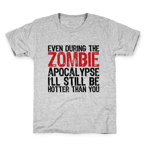 Hot Zombie Kids T-Shirt
