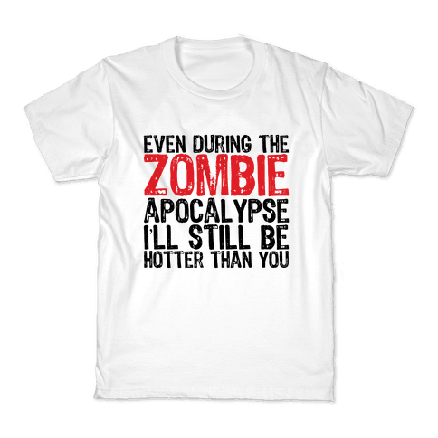 Hot Zombie Kids T-Shirt