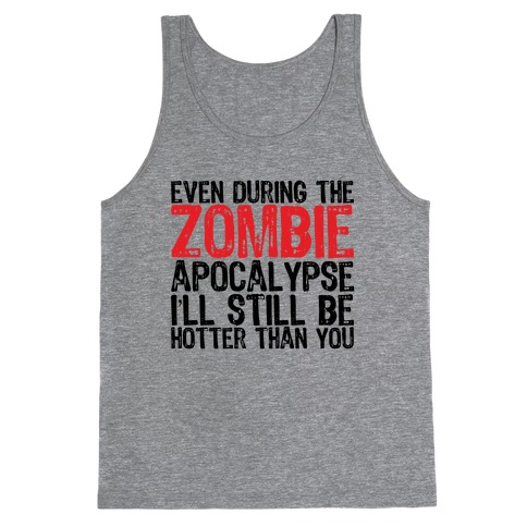 Hot Zombie Tank Top