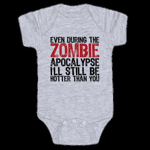 Hot Zombie Baby Onesy