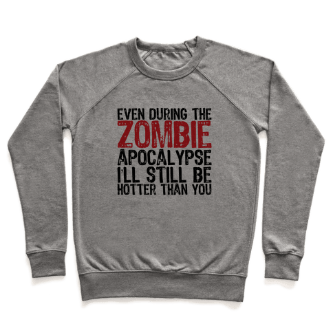 Hot Zombie Pullover