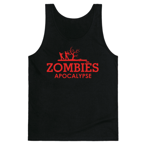 Zombies High Fashion Parody Tank Top