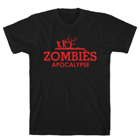 Zombies High Fashion Parody T-Shirt
