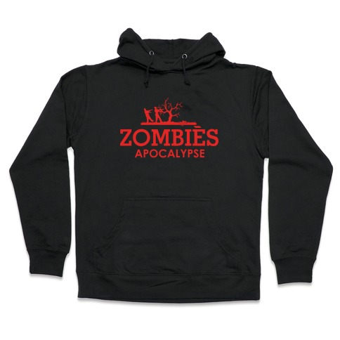Zombies High Fashion Parody Hooded Sweatshirt