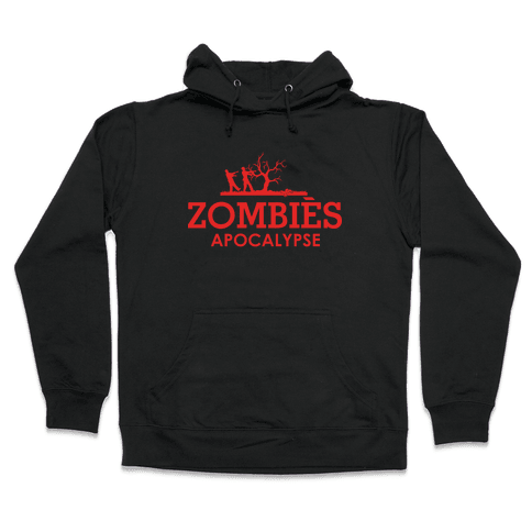 Zombies High Fashion Parody Hooded Sweatshirt