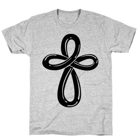 Infinity Cross (Back) T-Shirt