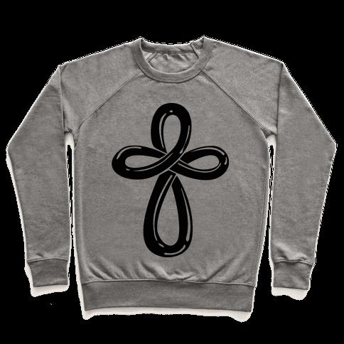 Infinity Cross (Back) Pullover