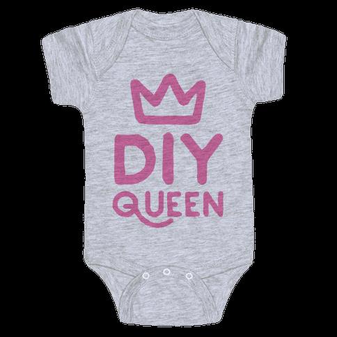 DIY Queen Baby Onesy