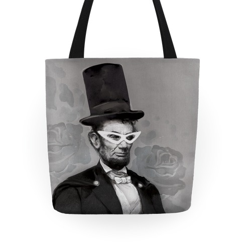 Japanese Abraham Lincoln Tote Tote