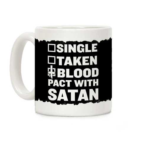 Blood Pact With Satan Coffee Mug