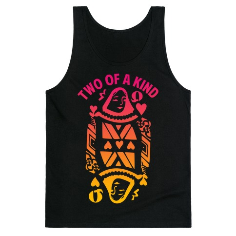 Two of A Kind Heart Tank Top